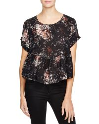 Elizabeth and James | Circle Sissy Silk Top | Lyst