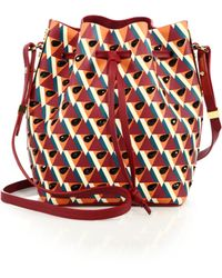 Sophie Hulme - Nelson Small Leather Bucket Bag - Lyst