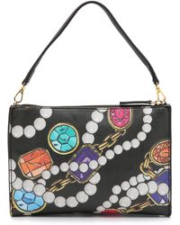 Boutique Moschino - Jewel Shoulder Bag - Black Multi - Lyst
