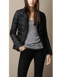 Burberry Showerproof Puffer Jacket - Lyst