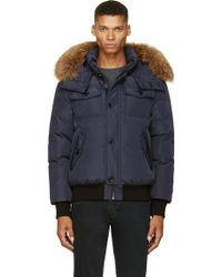 Mackage Navy Down Quentin_f4 Jacket - Lyst