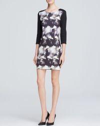 Addison - Dress - Duggan Mixed Media Shift - Lyst