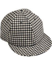 Larose - Chalk Stripes Baseball Cap - Lyst