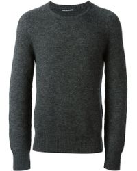 Neil Barrett Classic Crew Neck Sweater - Lyst