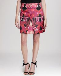 Ted Baker Skirt - Galwai Jungle Orchid Print - Lyst
