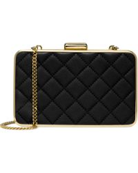 Michael Kors Michael Elsie Quilted Box Clutch - Lyst