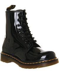Dr. Martens 1460 8-Eye Patent Leather Boots - For Men - Lyst