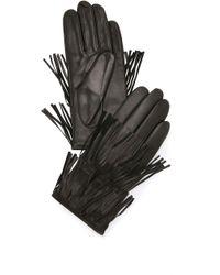 Carolina Amato - Fringe Gloves - Lyst