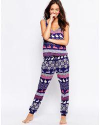 Chelsea Peers - Christmas Rabbit Jumpsuit Gift Box - Lyst
