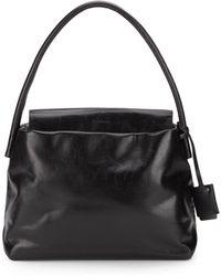 Jil Sander Powell Leather Shoulder Bag - Lyst