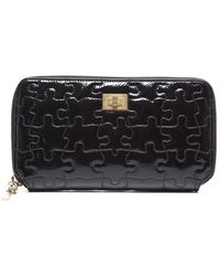 Chanel Preowned Reissue Puzzle Zip Around Wallet - Lyst