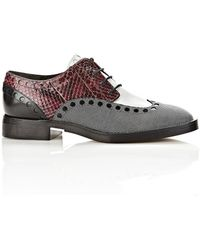 Alexander Wang Nathan Brogue Oxford - Lyst