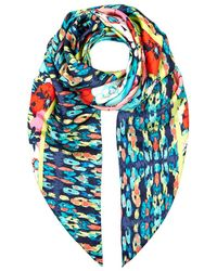 Juicy Couture - Costa Rica Ikat Print Scarf - Lyst