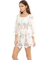 Miguelina Bridgette Dress White - Lyst