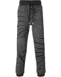 Christopher Kane Pages Print Trackpants - Lyst