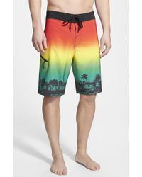 Adidas 'One Love' Board Shorts - Lyst