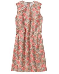 Gap Floral Shift Dress - Lyst