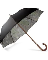 London Undercover Vintage Map-lined Umbrella - Lyst