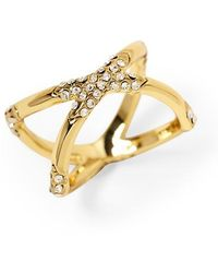 House Of Harlow Sound Waves Ring - Lyst