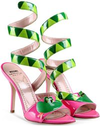 Moschino Cheap & Chic High-Heeled Sandals - Lyst