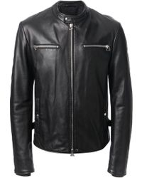 Lanvin B Leather Jacket - Lyst