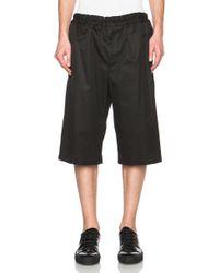 Alexander McQueen Men'S Runway Shorts - Lyst
