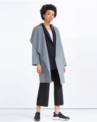 Zara | Hand Made Wool Coat | Lyst