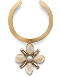 Tory Burch Lia Collar Necklace - Lyst