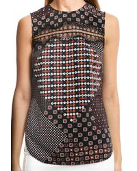 Thakoon | Addition Lace Inset Tank | Lyst