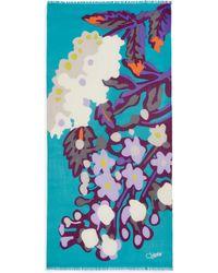 Diane von Furstenberg | Kensley Floral Cashmere Scarf | Lyst