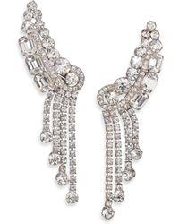 House of Lavande | 1950s Vintage Faceted Clip-on Drop Earrings | Lyst