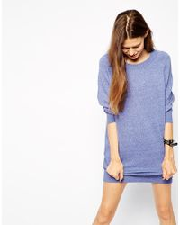 Asos Sweater Dress with Raglan Sleeve - Lyst