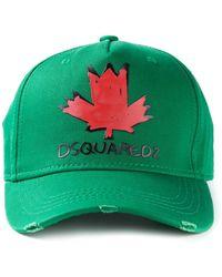 DSquared2 Logo Cap - Lyst
