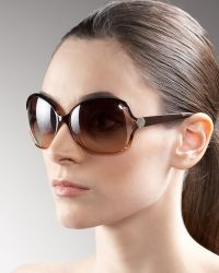 Marc By Marc Jacobs Open Square Sunglasses - Lyst