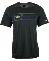 Nike Mens Baltimore Ravens Legend Jock Tag T-shirt - Lyst
