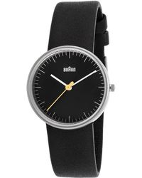 Braun - Women's Classic Black Genuine Leather And Dial (32 Mm) - Lyst