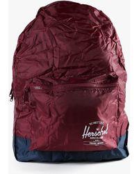 Herschel Supply Co. Packable Daypack purple - Lyst