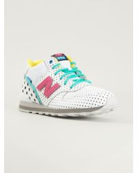 New Balance 996 Dotted Sneakers - Lyst