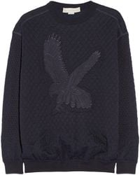 Stella McCartney Quilted Cotton and Wool-blend Sweater - Lyst