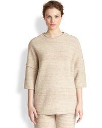 Stella McCartney Wool & Alpaca Dropped-Shoulder Sweater - Lyst