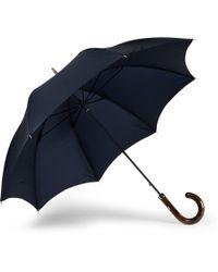 Francesco Maglia Lord Chestnut Knot Wood-handle Umbrella - Lyst