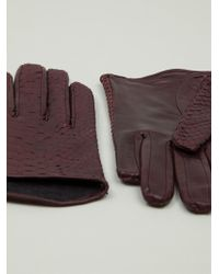 Imoni Red Classic Gloves - Lyst