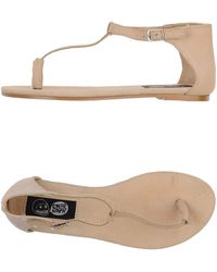Cheap Monday Thong Sandal - Lyst