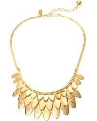 Kate Spade - Fancy Flock Collar Necklace - Lyst