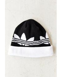 Adidas Switch Stripe Beanie - Lyst