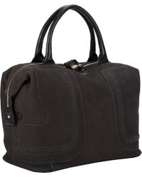 See By Chloé Nubuck 24hour Shoulder Bag - Lyst