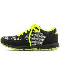 Sam Edelman Des Jogging Sneakers - Blackneon Citrine - Lyst