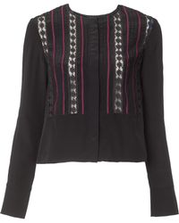 Suno | Lace Embroidered Blouse | Lyst