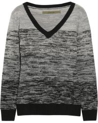 Enza Costa Wool and Cashmereblend Sweater - Lyst