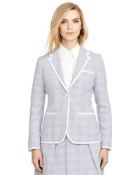 Brooks Brothers Jacquard Jacket - Lyst